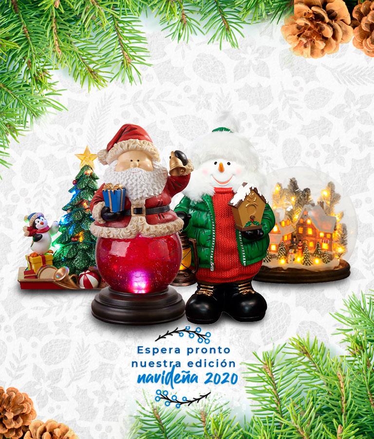 Avance decoración Navidad 2020