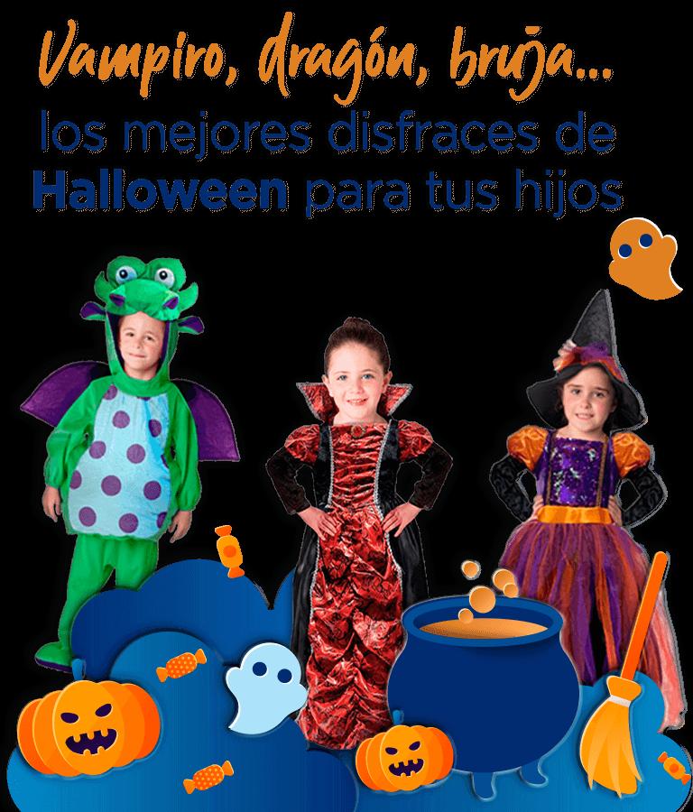 los mejores disfraces de Halloween para tus hijos