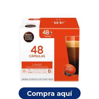 Cápsulas de café, 48 pzas, Dolce Gusto