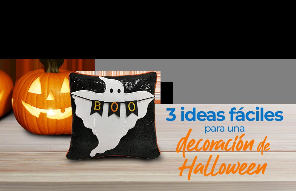 3 ideas fáciles para una decoración de halloween