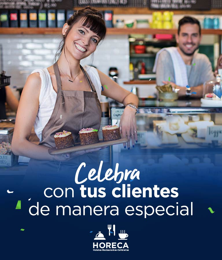 Celebra con tus clientes de manera especial