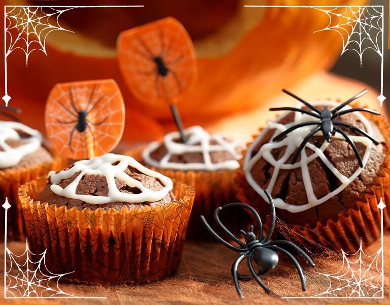 Muffins para Halloween