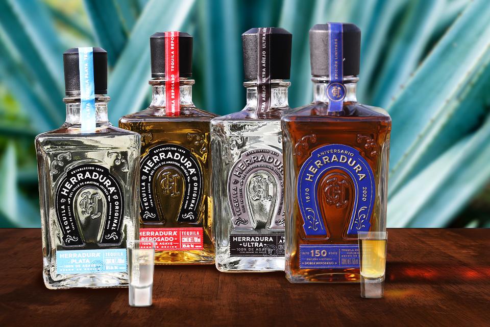 4 tequilas, 4 experiencias sensoriales