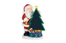 Santa con pizarrón