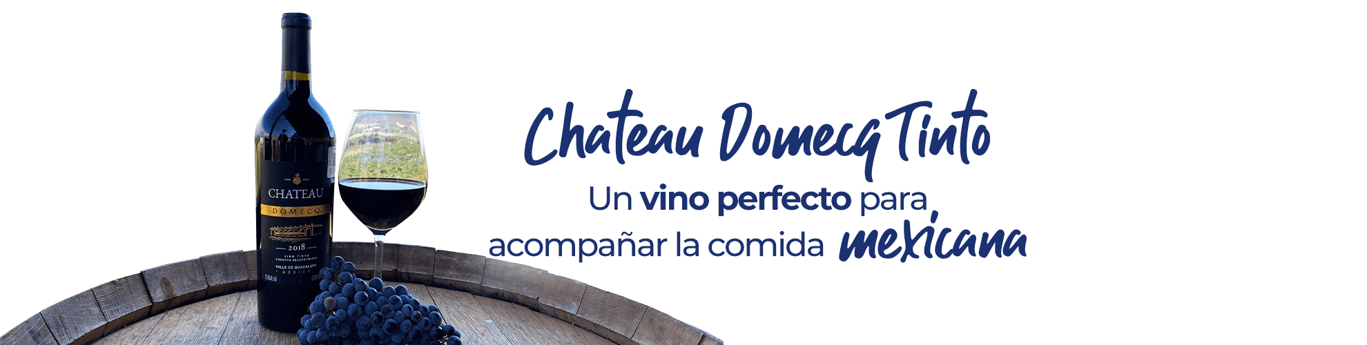 Chateau Domecq Tinto Un vino perfecto para acompañar la comida mexicana