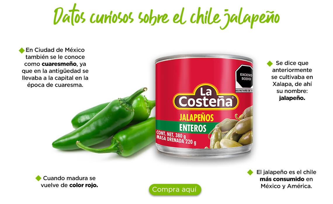 Datos curiosos sobre el chile jalapeño