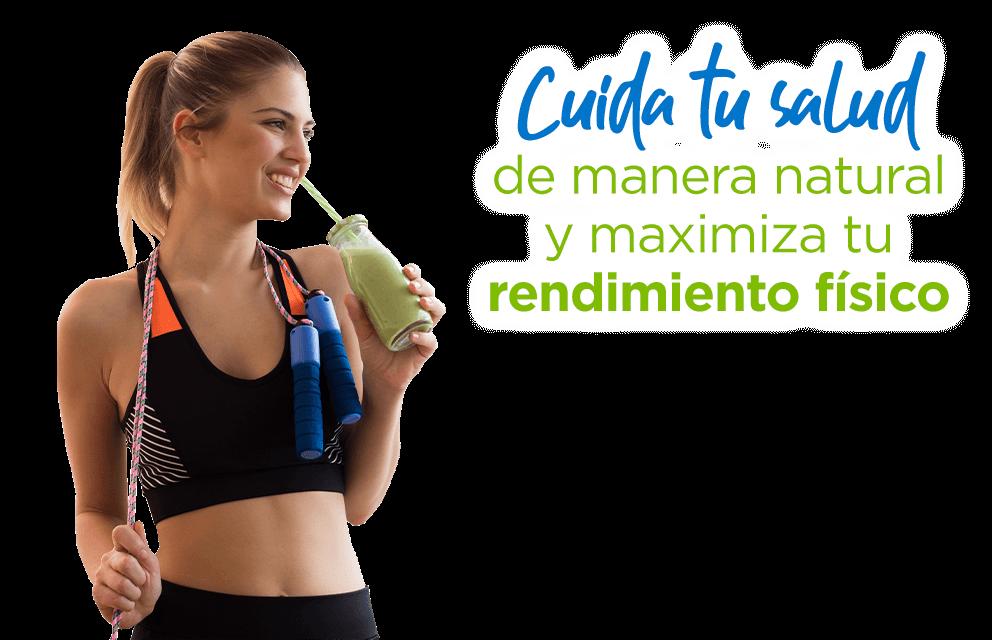 Cuida tu salud de manera natural y maximiza tu rendimiento físico