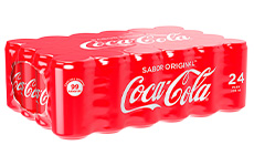 Refresco de cola Original, 24 pzas de 235 ml.
