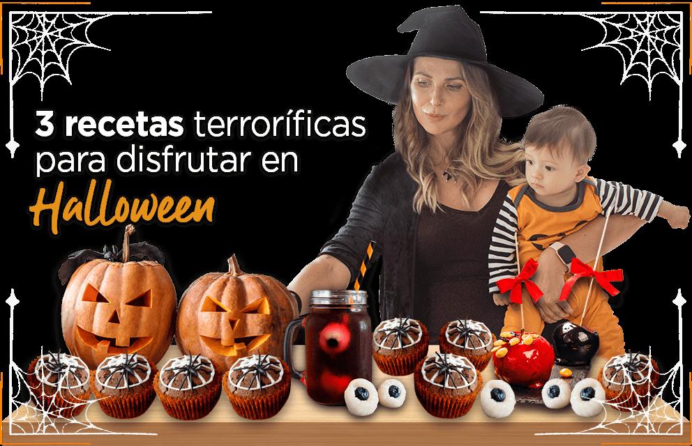 3 recetas terroríficas para disfrutar en halloween
