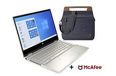 Laptop HP 2 en 1 Core i5 8 GB RAM 256 GB SSD + Maletín y McAfee