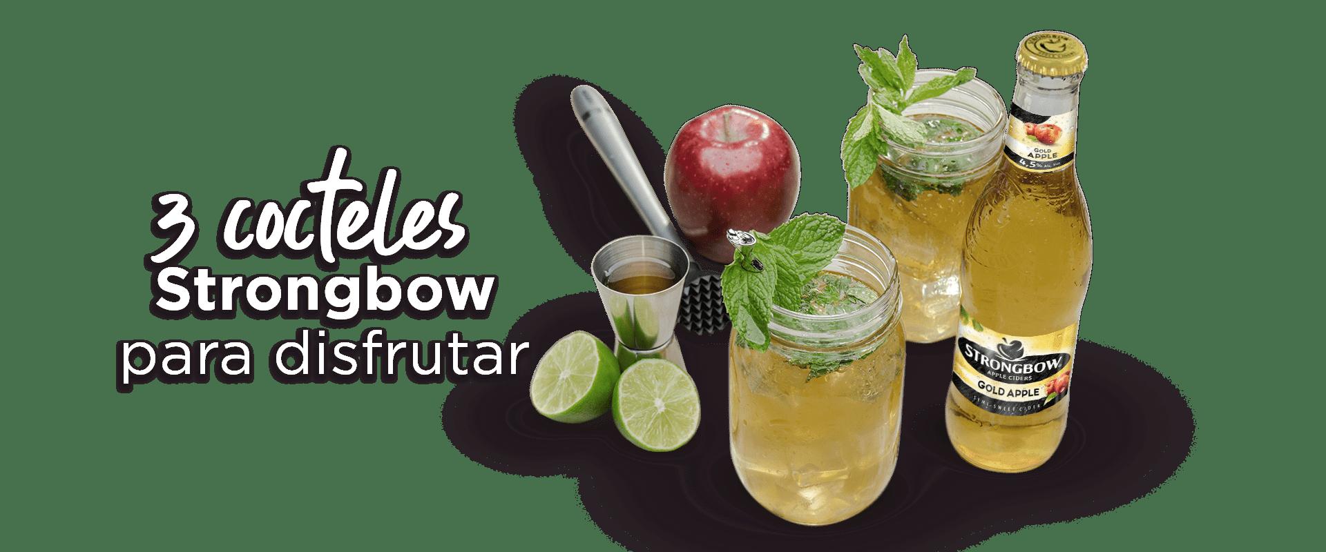 3 cocteles Strongbow para disfrutar