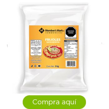 Frijoles Bayos Member's Mark Refritos de 3 kg