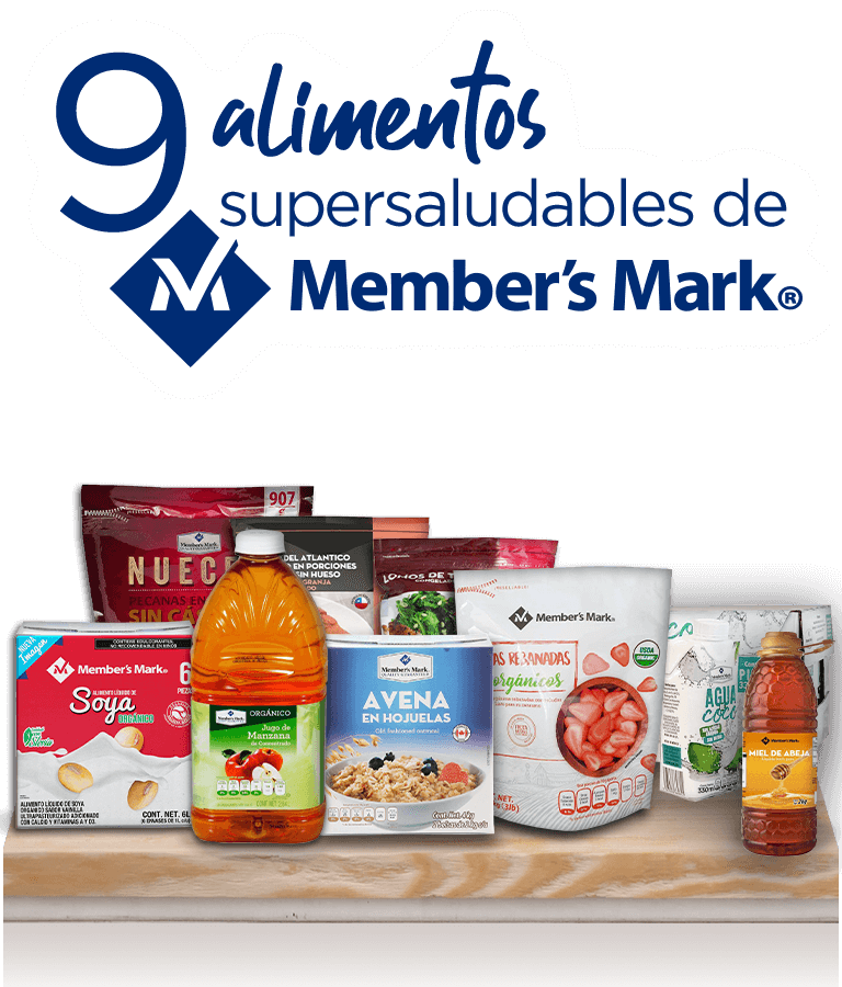 9 alimentos supersaludables de Member's Mark