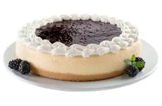 Cheesecake de zarzamora, 2.1 kg. Member's Mark.