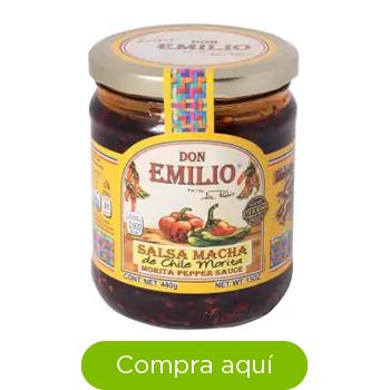 Salsa Macha Don Emilio Chile Morita 440 g