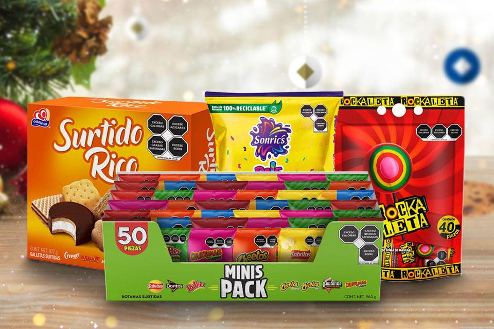 Celebra las posadas en casa y que no te falten los dulces para la piñata