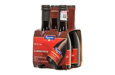 Vino Tinto Riunite Lambrusco 4 pzas de 187 ml c/u