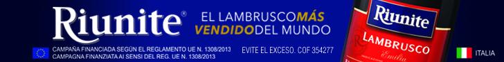 Superbanner - Riunite - Contenido - /riunite-lambrusco-consentido-de-mexico/ - Lambrusco emilia 750ml