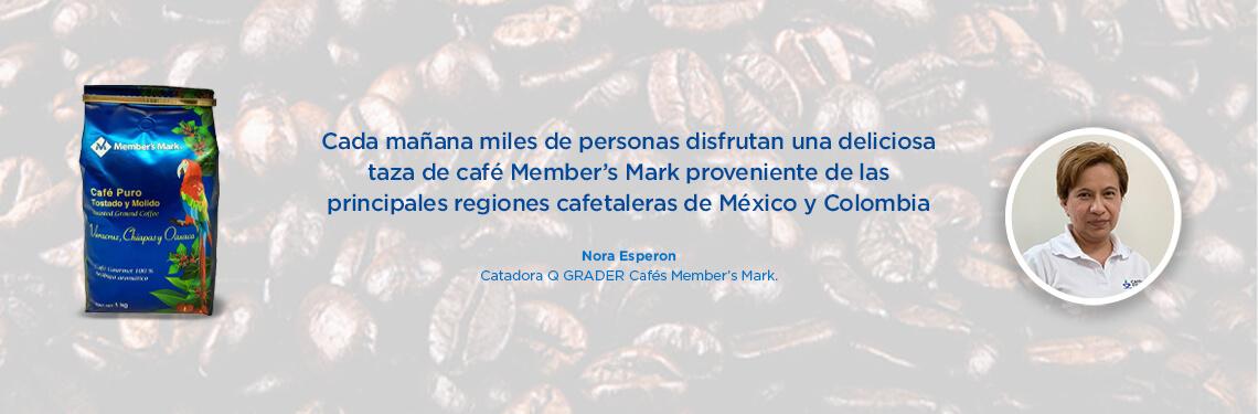 Cada mañana miles de personas disfrutan una deliciosa taza de café Member's Mark