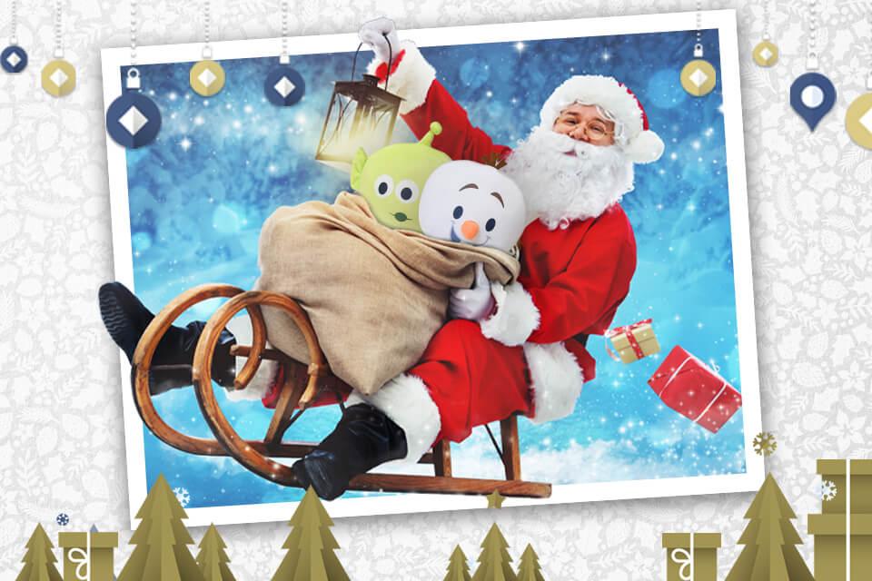 Santa Claus llegó a Sam's Club