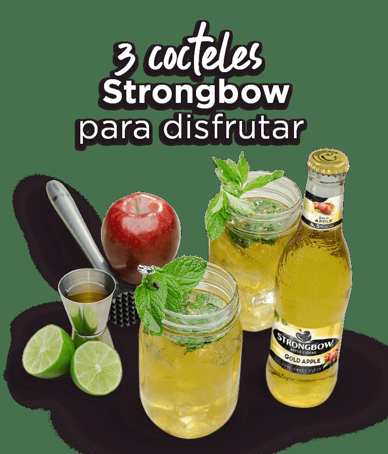 3 cocteles para disfrutar Strongbow
