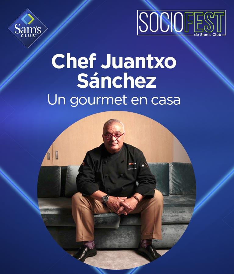 """Chef Juantxo Sánchez """"Un gourmet en casa"""""""
