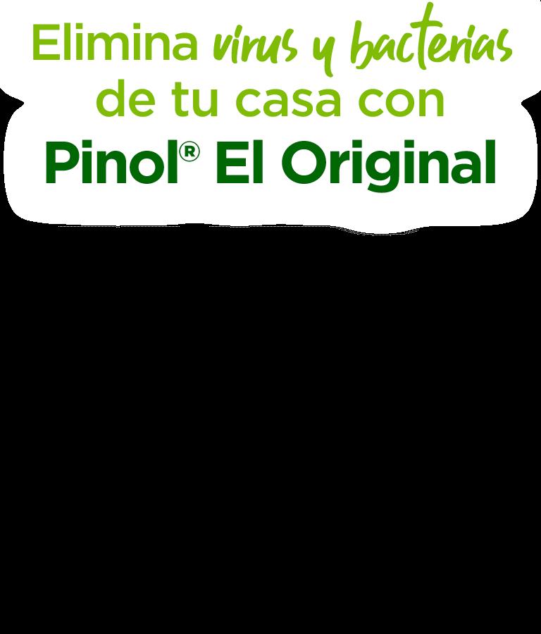 Limpia tu casa y elimina el 99.9% de virus y bacterias con Pinol El Original
