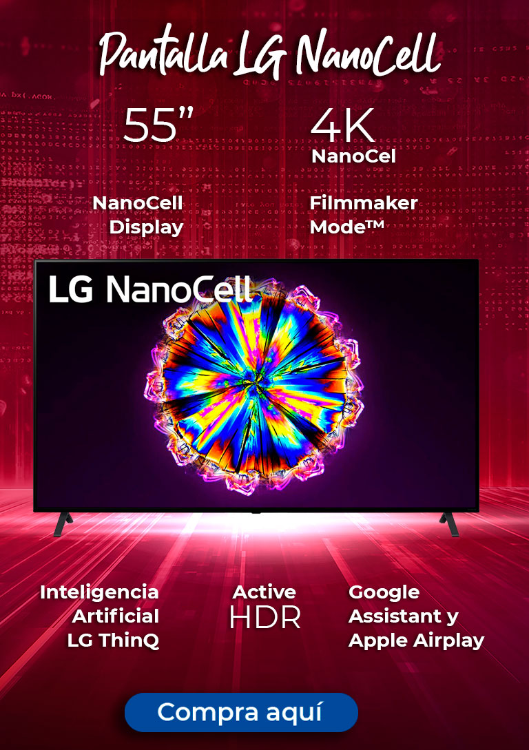 Pantalla LG NanoCell