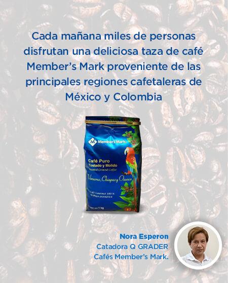 Cada mañana miles de personas disfrutan una deliciosa taza de café Member's Mark...
