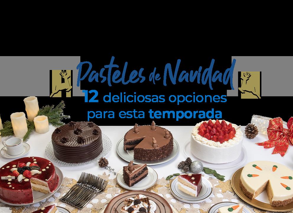 Pasteles de Navidad 12 deliciosas opciones para esta temporada
