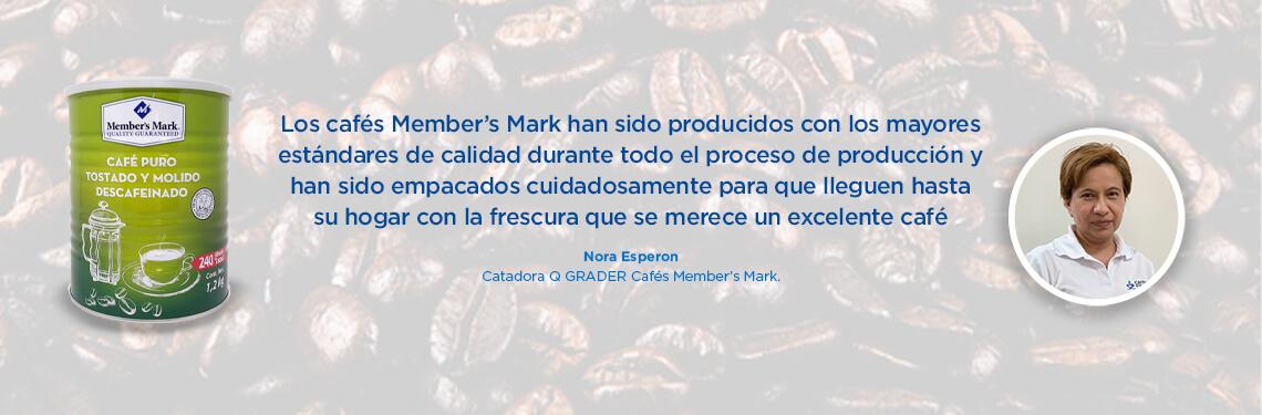 Los cafés Member's Mark han sido producidos