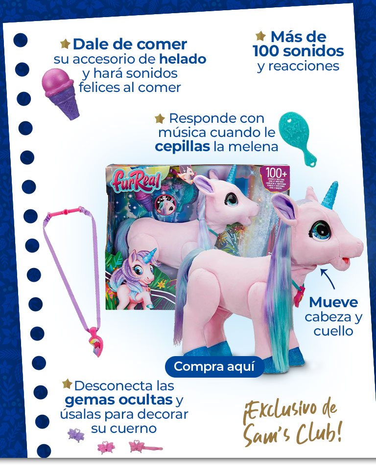 ¡Exlusivo de Sam's Club!