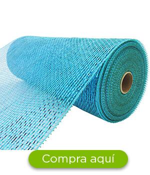 Malla azul
