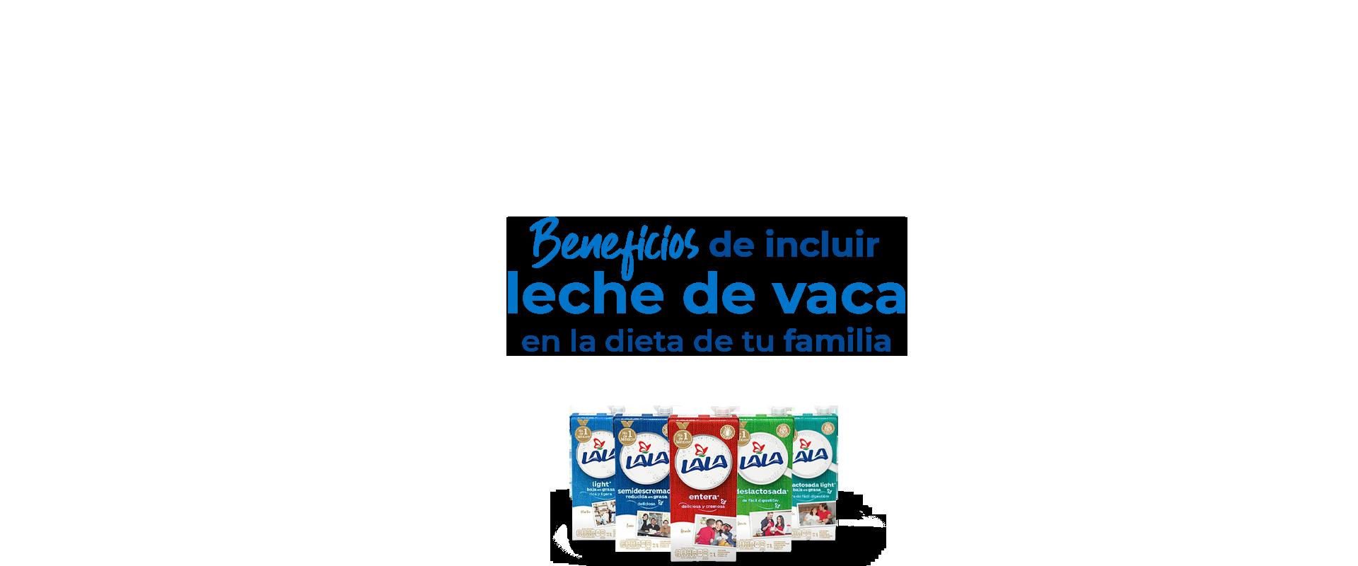 Beneficios de incluir leche de vaca en la dieta de tu familia