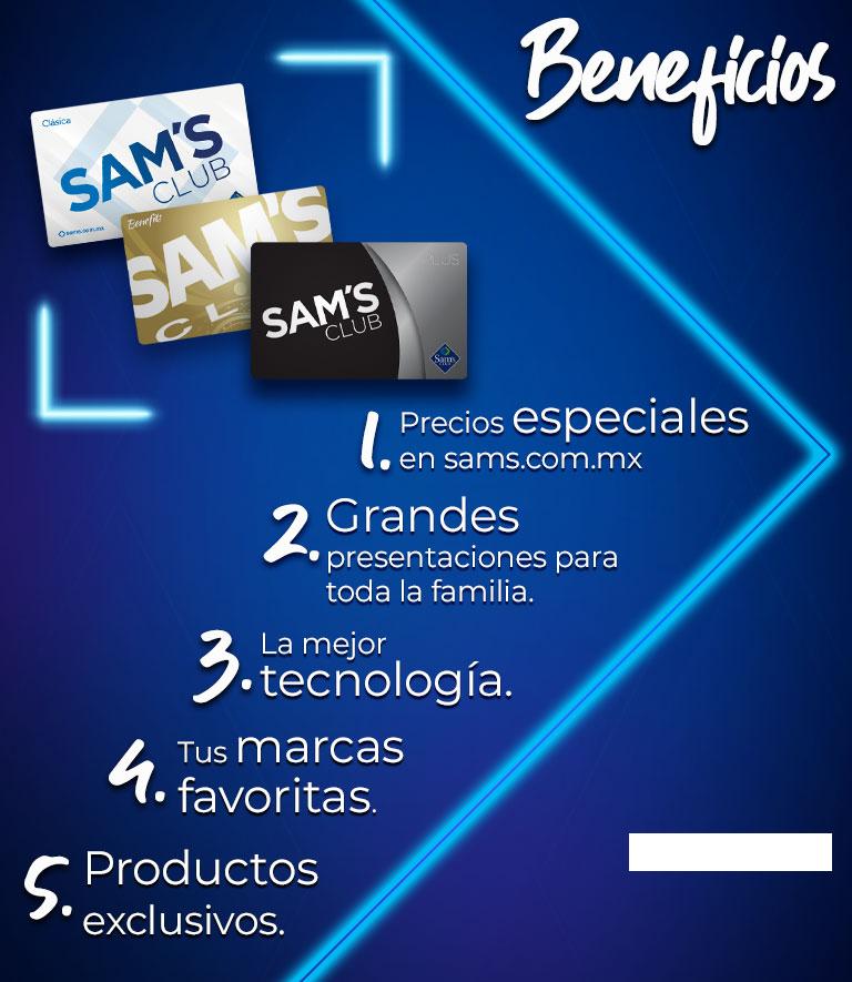 SocioFest Beneficios. Grandes presentaciones para toda la familia. Precios especiales en todo el Club y en sams.com.mx. La mejor tecnología.