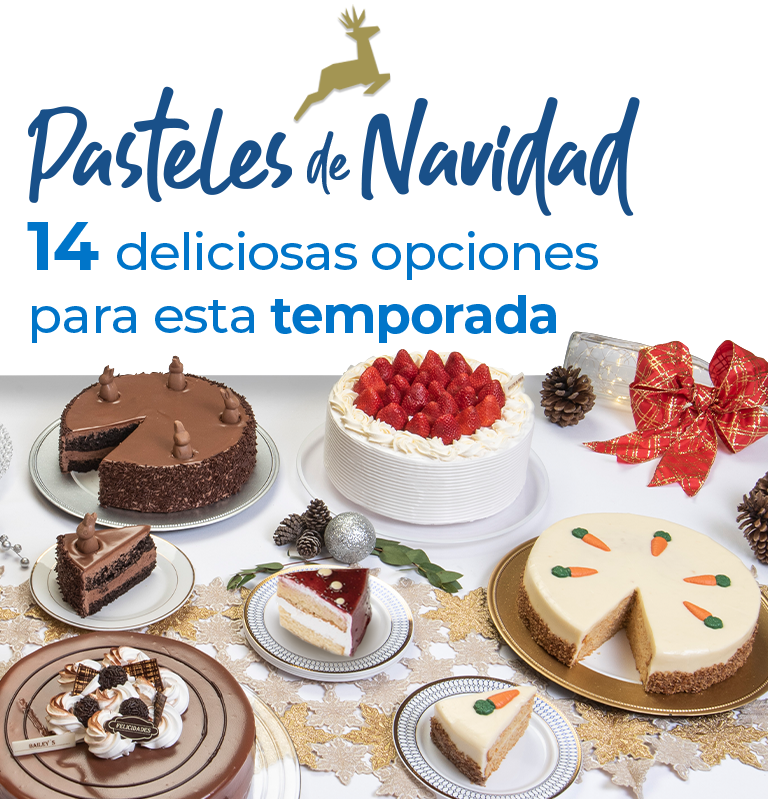 Pasteles de Navidad 15 deliciosas opciones para esta temporada