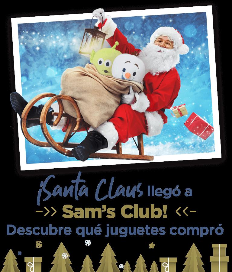 Santa Claus llegó a Sams Club