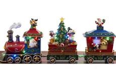 Tren navideño con luz y sonido. Member's Mark.