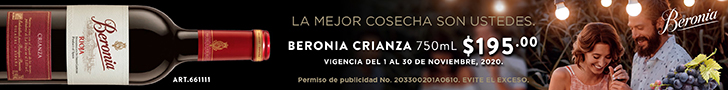 Superbanner - Vino Beronia - Contenido - /beronia-crianza-un-riojaalta-para-compartir/ - Vino Tinto Beronia Crianza Rioja 750 ml