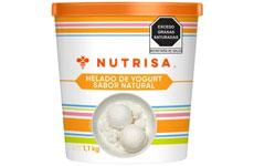 Helado de yogur natural, 1.1 Kg. Nutrisa. 980016491