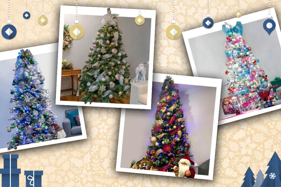 Te decimos cómo decorar tu árbol de Navidad
