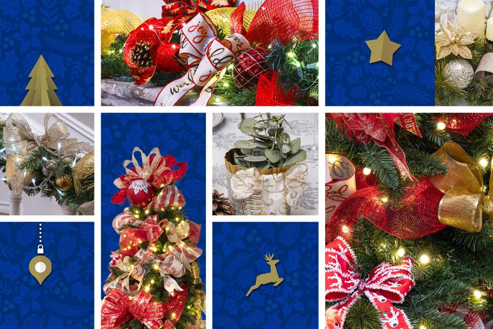 Listones de Navidad