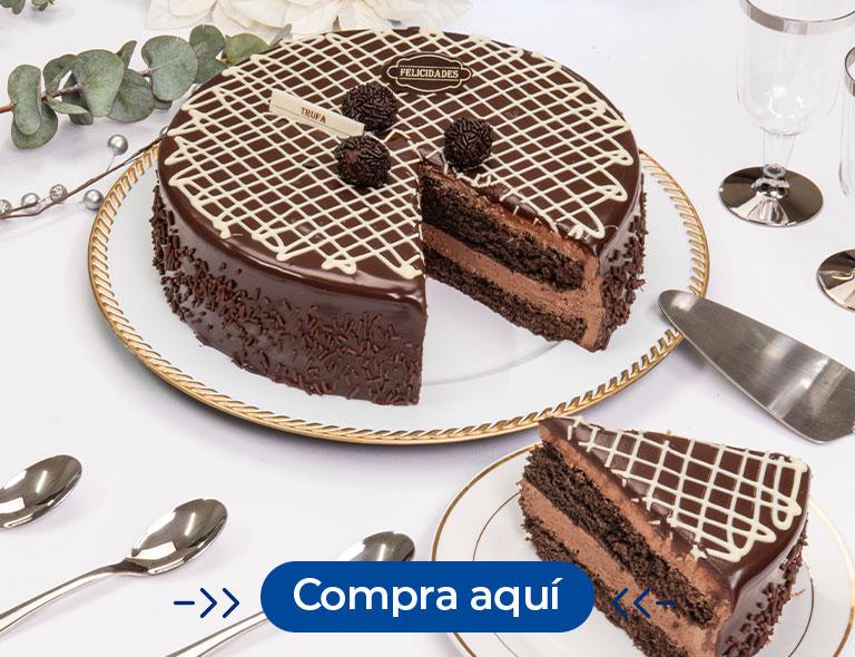 Pastel de trufa de chocolate