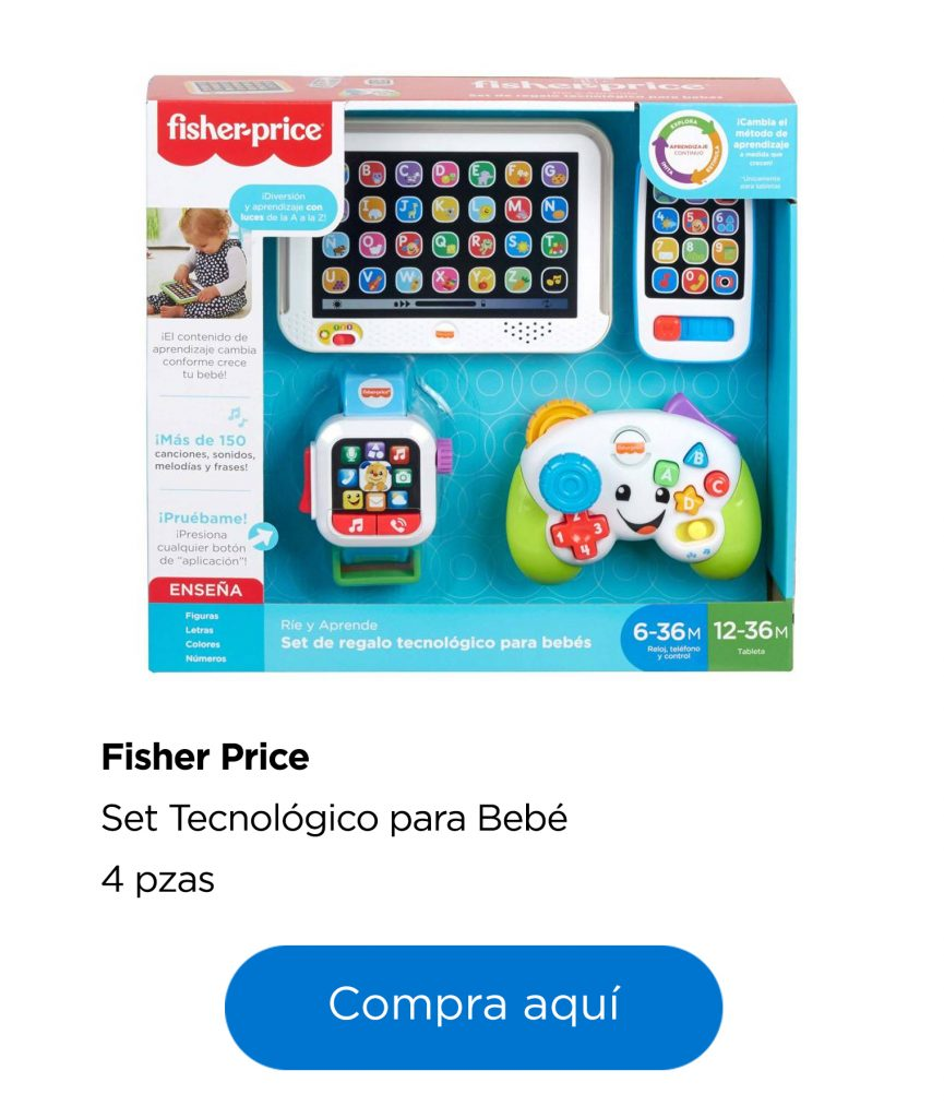 Set tecnológico para bebé Fisher-price
