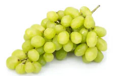 Uva verde sin semilla, 1.36 Kg. Importada