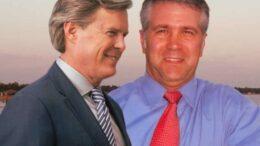 Bill Hightower and Jack Burrell