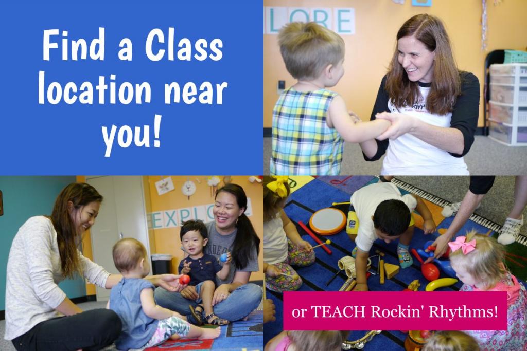 Find a Class Location Near You! or Teach Rockin' Rhythms!