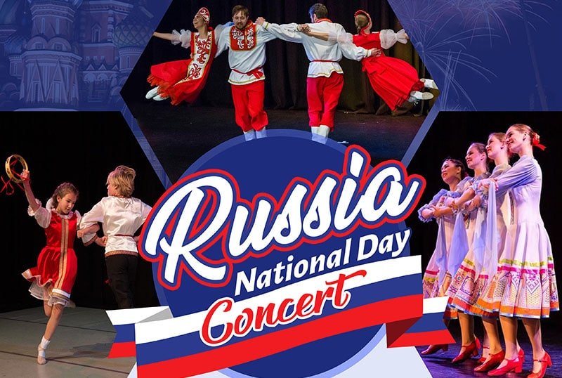 Russia National Day Concert Proudly supported by Glen Eira City Council