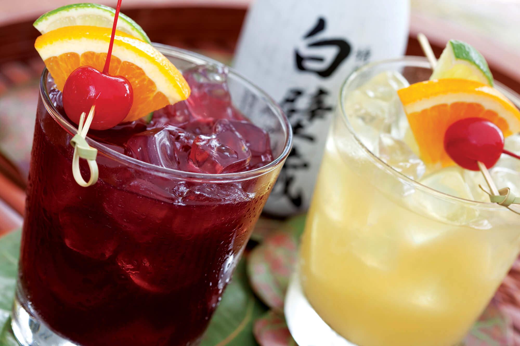 Sake Sangria