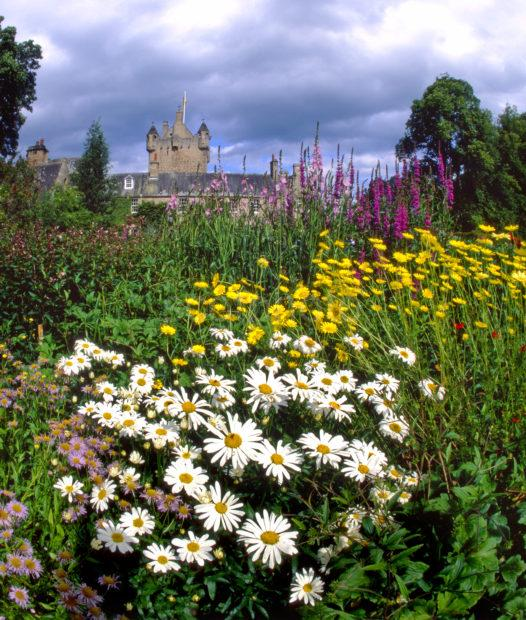 Cawdor Castle From Magnificent Gardens Cawdor Nairn Moray Firth
